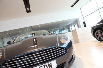 Harwoods and Lancaster Aston Martin dealerships © Monica Wells Photography 2019
